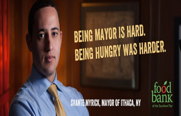 Must watch: Svante Myrick and the Food Bank