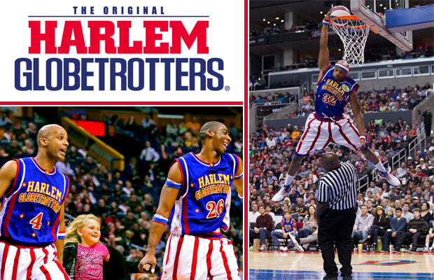 Win Harlem Globetrotters tickets!