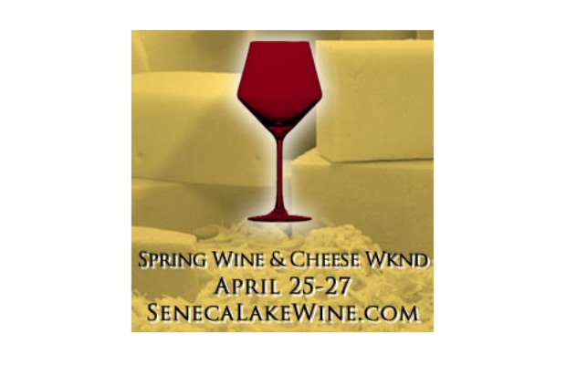 Spring Wine and Cheese Weekend on Seneca Lake!