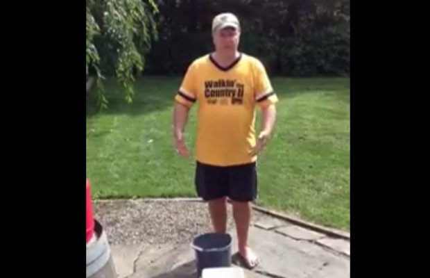 Chris Answered the Ice Bucket Challenge!